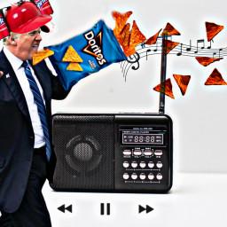 trump doritos freetoedit ircradio radio