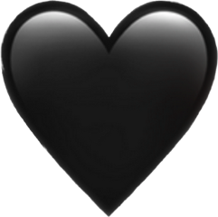 sadheart black freetoedit