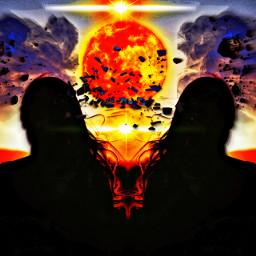 freetoedit apocolypse doomsday frightening twins ircspringsunset