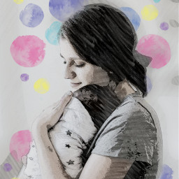 freetoedit sketchereffect motherandson mothersday op mothersday