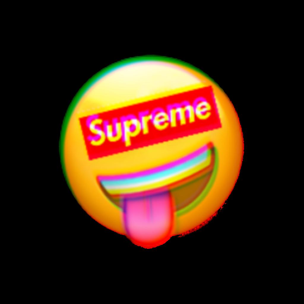 emoji supreme glitch tumblr beautiful