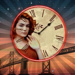 freetoedit ircredhead redhead clock clockremix