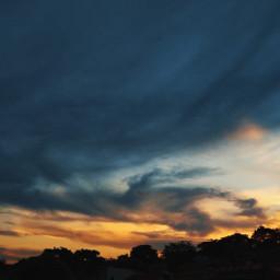 freetoedit sky nature sunset