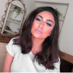 freetoedit makeup makeupselfie colourfull colourfullife
