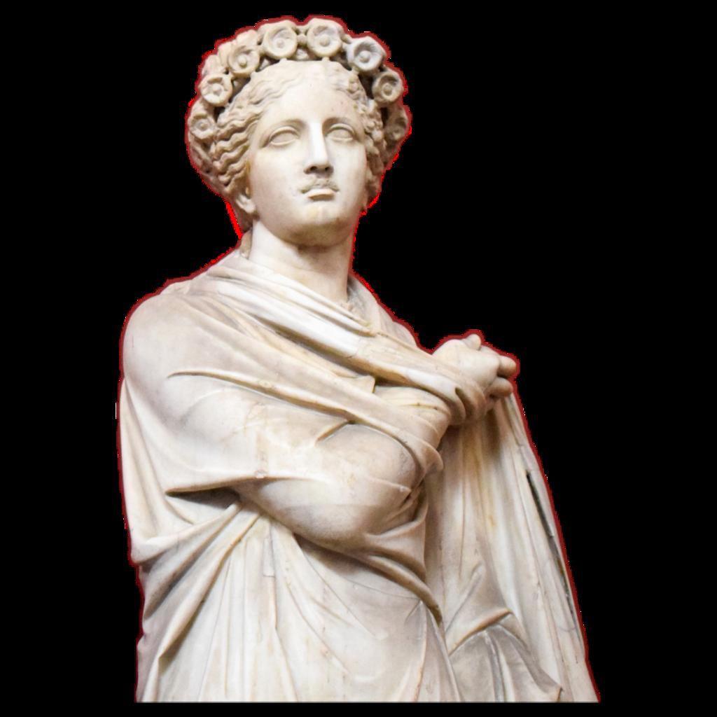 statue roman marble stone woman