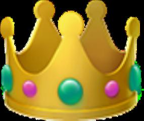 стикер корона freetoedit