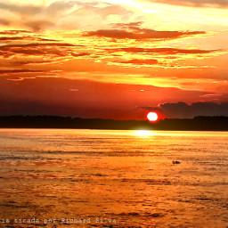 twilight sunset photographynature orange river