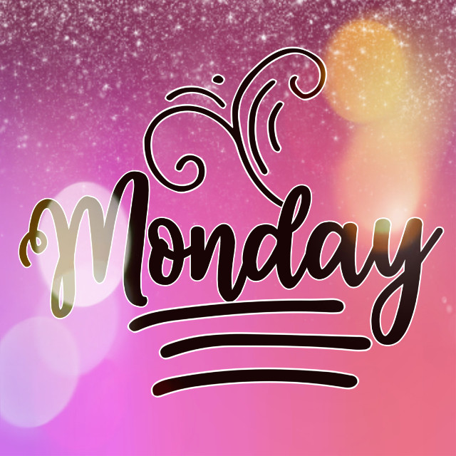 Have a beautiful start to the week ❤️ Let this be a better week than the previous one, let all your projects be fulfilled.  Blessings and good vibes for everyone.  #freetoedit #monday #mondaymood #mondaymotivation #mondaymorning