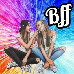 picsart bff best friends 4ever freetoedit