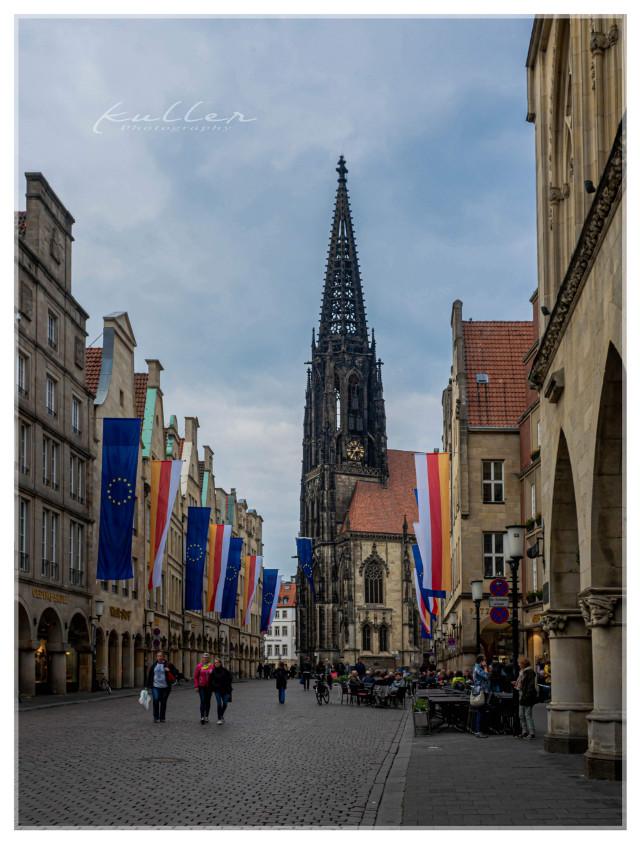 St. Lamberti in Münster  #church #münster #oldtown  #freetoedit  #banners