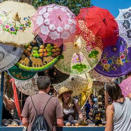 renaissancefair arizona people market umbrellas freetoedit