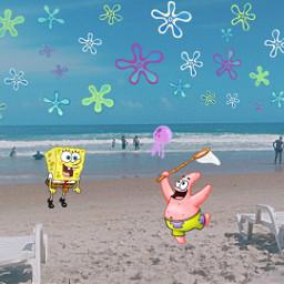 beachphotography bobsponja freetoedit