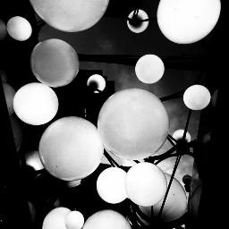 light lamps lookingup photobyme blackandwhite freetoedit