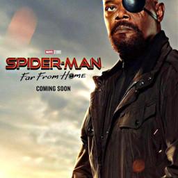 spidermanfarfromhome nickfury marvelstudios marvelcomics freetoedit