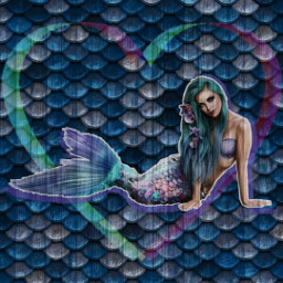 freetoedit mermay ocean colorful scales ircmermay