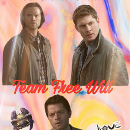 supernatural teamfreewill freetoedit