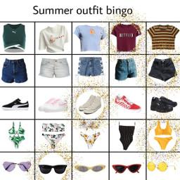 freetoedit outfitbingo bingo summer summeroutfit