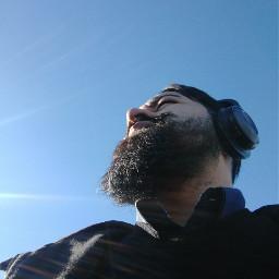 freetoedit sky morning beard