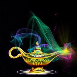freetoedit magiclamp neoneffect colorful myedit