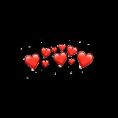 heart heartemoji heartemojicrown emojicrown crown freetoedit