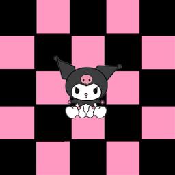 checkered hellokitty kuromi kuromiaesthetic mymelody freetoedit