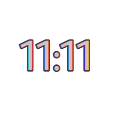 11:11 glitch aestheticnumber aesthetic number freetoedit