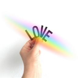 freetoedit love rainbowlight rainbow irclove