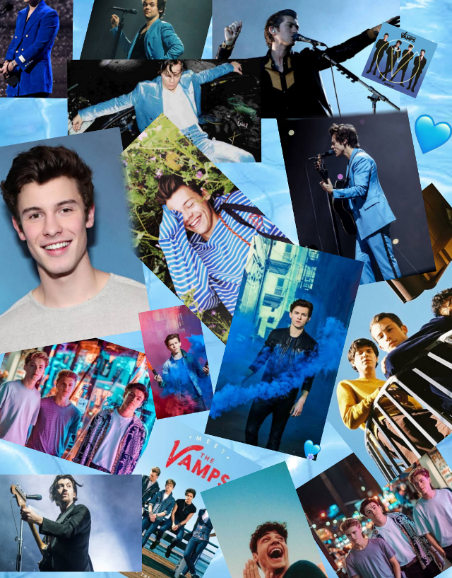 This wallpaper contains Harry Styles, Tom Holland, Shawn Mendes, Alex Turner, New Hope Club, Wallows, The Vamps and Noah Centineo❤️❤️