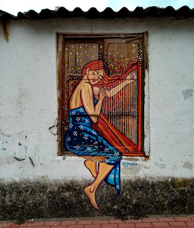 #cotacachi #imbabura #ecuador #graffiti #art #windowpainting #streetart #urban  #freetoedit