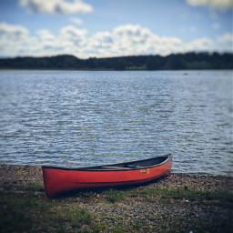 boat lake shoreline photography redboat