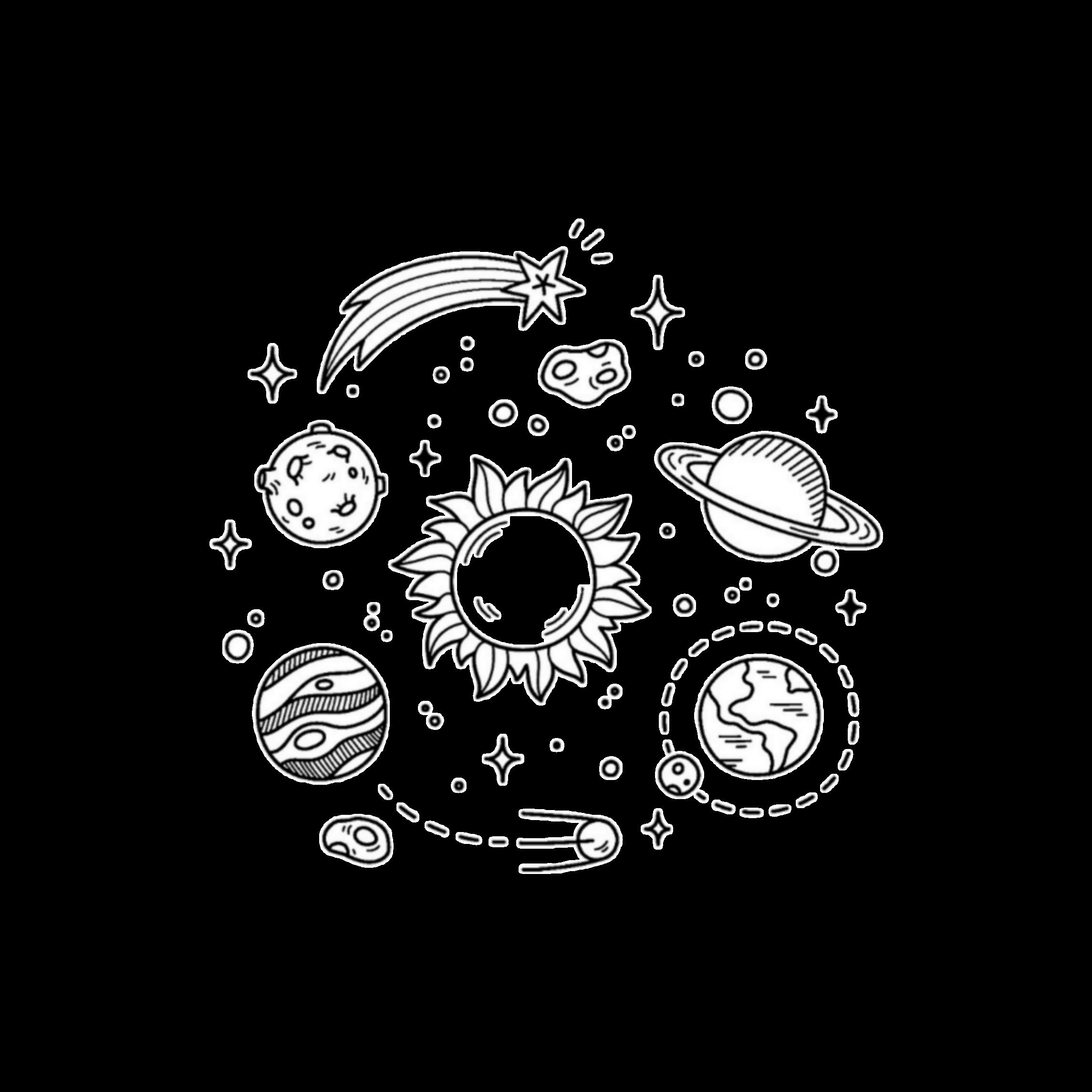 E Black And White Sticker By Soup