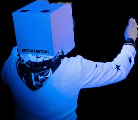men man boy box cardboard freetoedit
