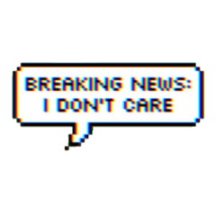 news glitch i dont care freetoedit