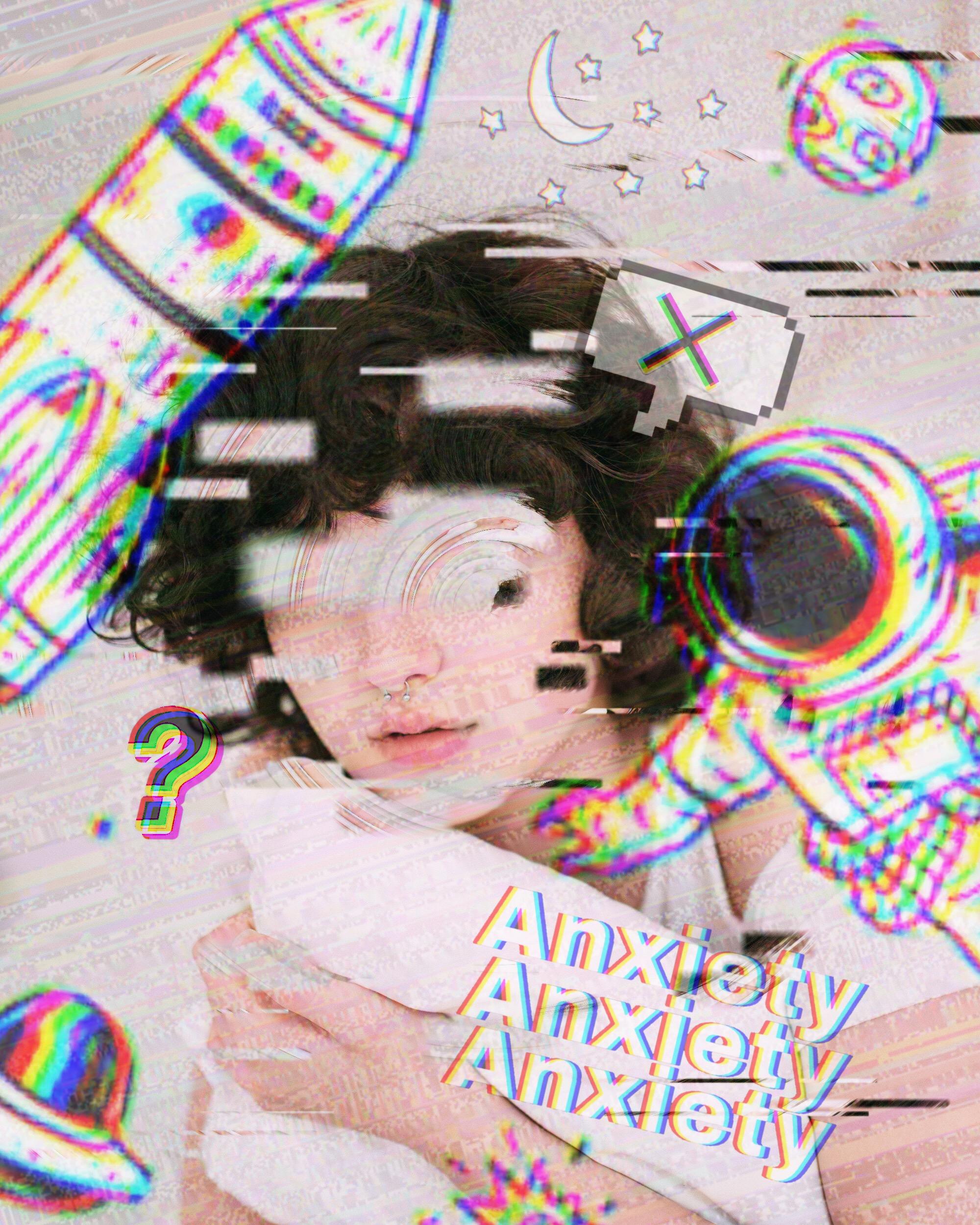 Girl Glitcheffect Image By Rebeccacuttone