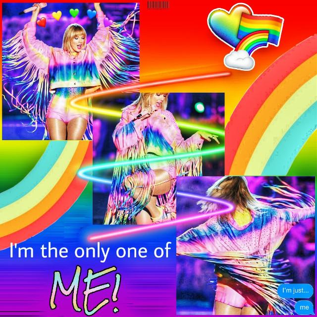 🌫 #taylorswift #taylor #swift #lgbt #taylorswiftedit #lgbtsupport #pridemonth #wangotango #iheartradio #taytay #loveislove #lgbtqpride #rainbow #fattal1   #freetoedit
