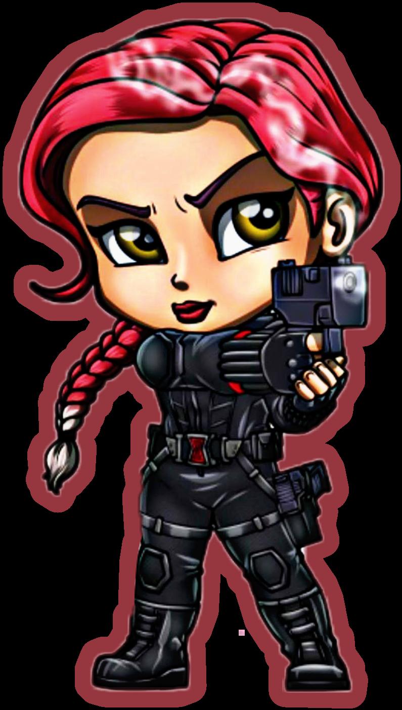 Black Widow Sticker Fan Art By Lordmesa Art Freetoedit