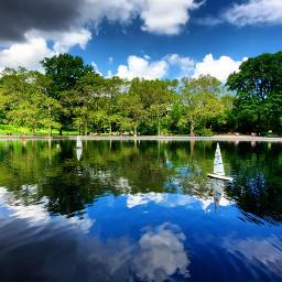 nyc newyork centralpark toyboats pond