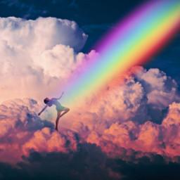 pride2019 light rainbowlight rainbow unsplash