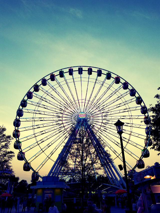 360 Observation Wheel at Broadway at the Beach - Myrtle Beach #ferriswheel #myrtlebeach #SouthCarolina #beach #pavilion #broadwayatthebeach #360observationwheel #observationwheel