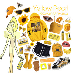 freetoedit yellow pearl yellowpearl stevenuniverse