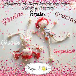 gratitud gratitude amor ternura papasol freetoedit