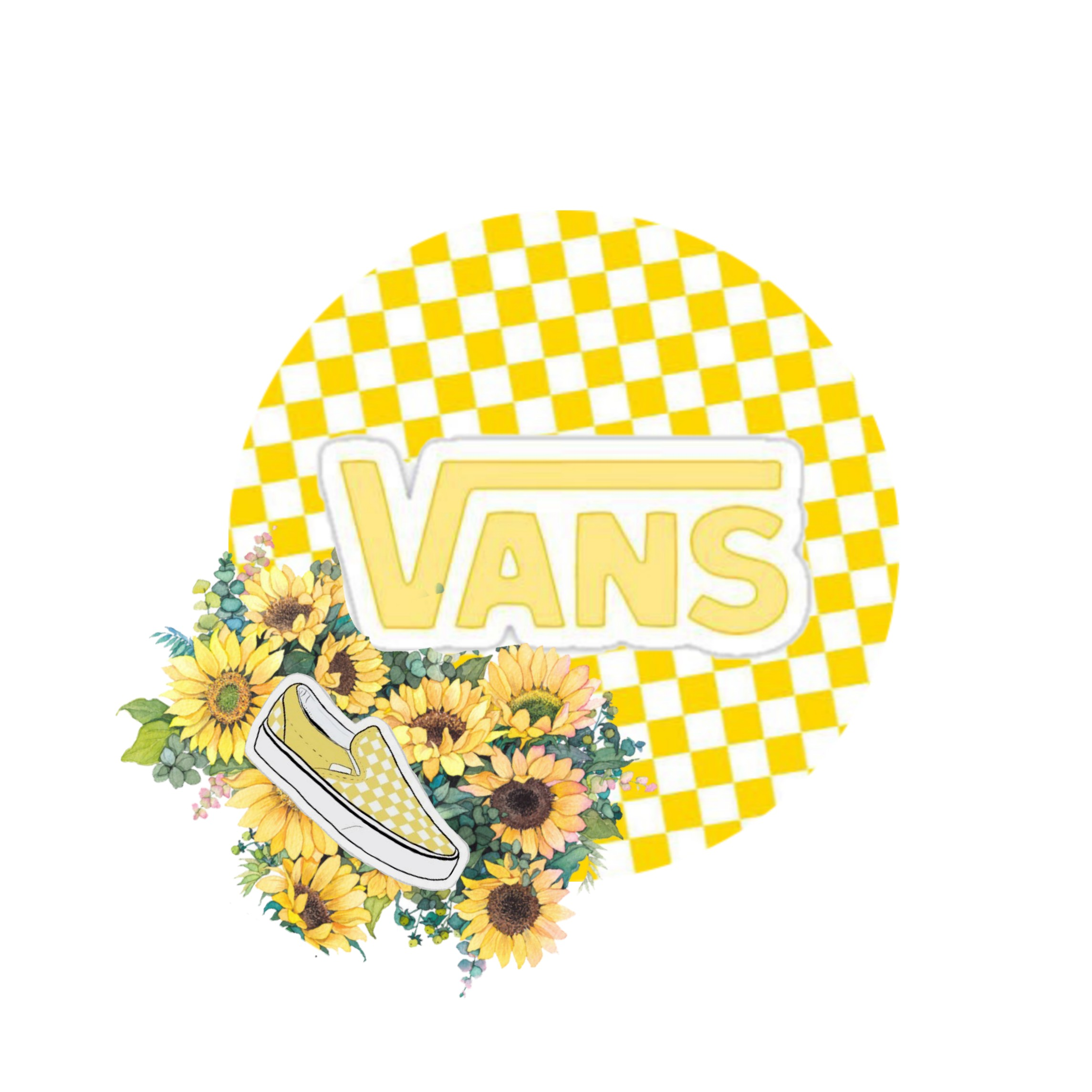 Your Favourite Brand Yellow Vans Fanartofkai Pcbeaut