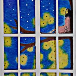 starrynight fireflies dreamscape myart2019 freetoedit