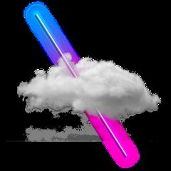 neon smoke strange cloud 4asno4i ftestickers freetoedit