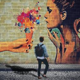 freetoedit graffiti icecream cone graffitistyle