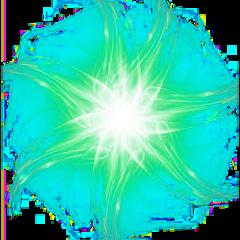 ftestickers light star fractal neon freetoedit