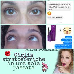freetoedit ciglia mascara4d lashes youniquepresenter