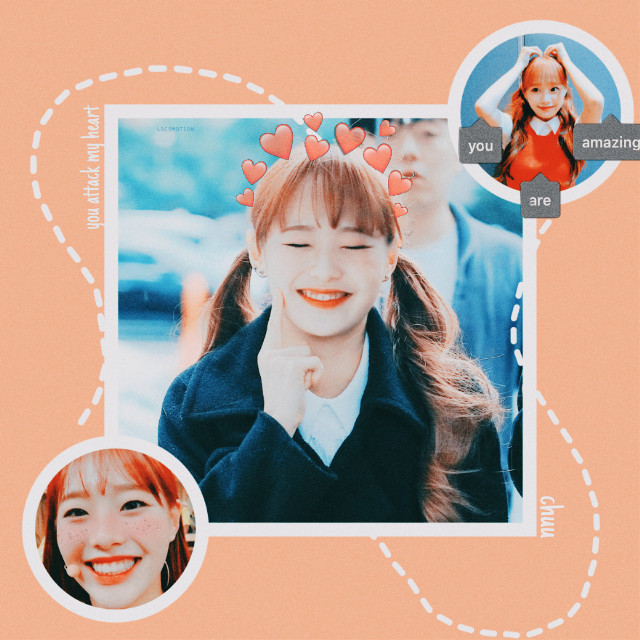 What a babe lol I love Chuu and i am having a blast making these even if they look lile crap. I'll post a bunch of drawings later i promise!!  #freetoedit #kpop #loona #chuu #edit #soft #softedit #cutie