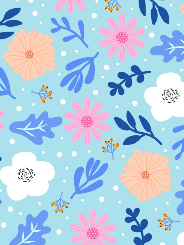 #freetoedit #background #backgroundss #wallpaper #flowers #floralpattern #floralbackgrounds #colorful #blue #myedit #madewithpicsart
