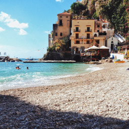 beach italy ocean private vacation freetoedit